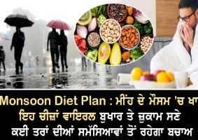 monsoon diet plan eat these things