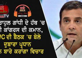 rahul gandhi will again take charge