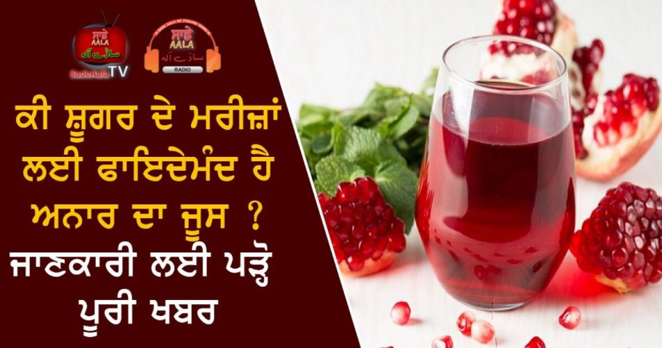 pomegranate is good for diabetic patient