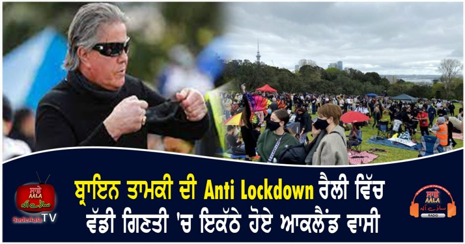 brian tamakis anti lockdown rally